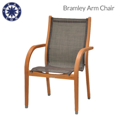 "Takashi garden furniture ""Bramley armchairs' natural trees eucalyptus wood Scandinavian Chair Chair garden chair SCANCOM scancom garden patio porch"