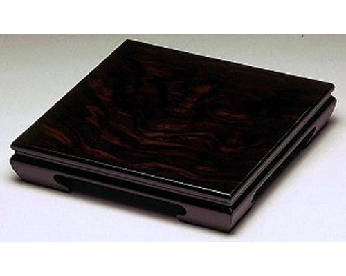 花台 黒丹 黒丹調 10号 木製飾り台 国産品
