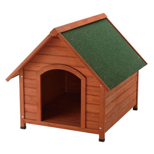 リッチェル 木製犬舎 830 超小型~中型犬用【ペット用品・ドッグハウス・愛犬用犬小屋・屋外・天然木製、doghouse、kennel】