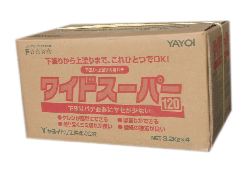 ヤヨイ化学 ワイドスーパー120 3.2kg×4 宅配便送料無料 海外並行輸入正規品