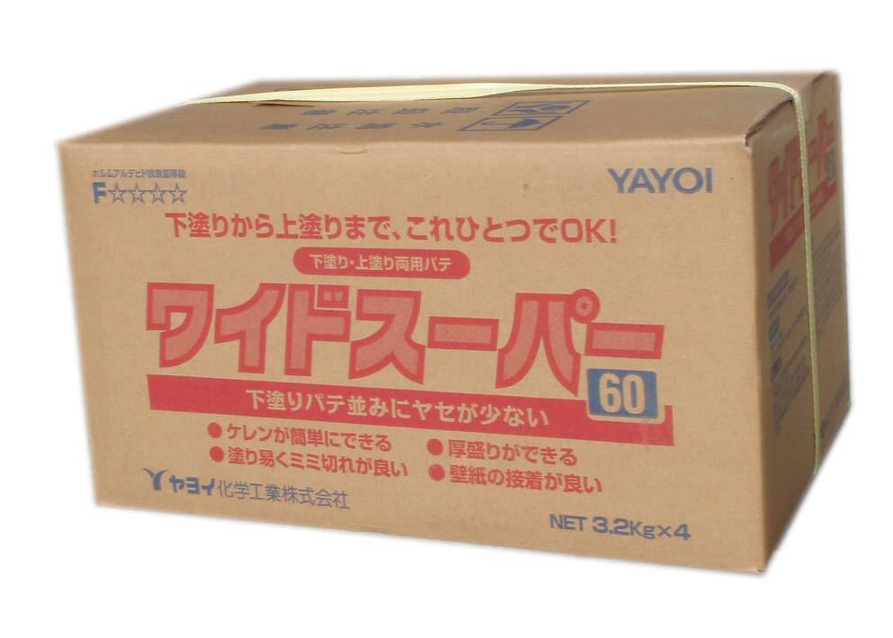 ヤヨイ化学 ワイドスーパー60 3.2kg×4 ギフ_包装 記念日