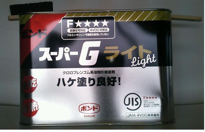 コニシボンドスーパーGライト 3kgX6個