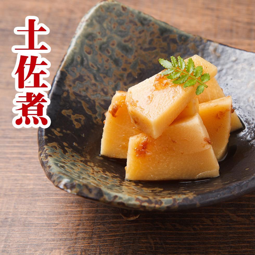 柔らかい竹の子と鰹の風味がお口の中に広がります。 ご飯のお供に、お弁当のおかずに 【メール便 送料無料 3個以上はヤマト便】おせち料理に 国産 竹の子 鰹節 【土佐煮 300g】やわらか おつまみに