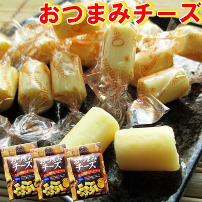 日本未発売 熟成チェダーチーズを使用した濃厚なコクと旨味をお楽しみください☆珍味 超安い おつまみ おやつ 駄菓子 おつまみチーズ 62g-3袋セット なとり メール便送料無料