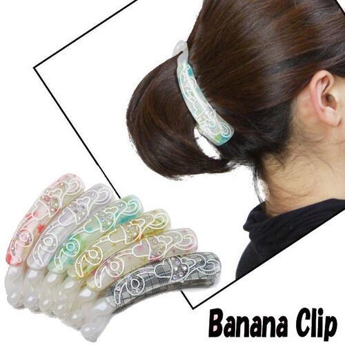 b89746b1a03ce Manmaru Asia Online shop  Hair accessories banana clip sparkling ...