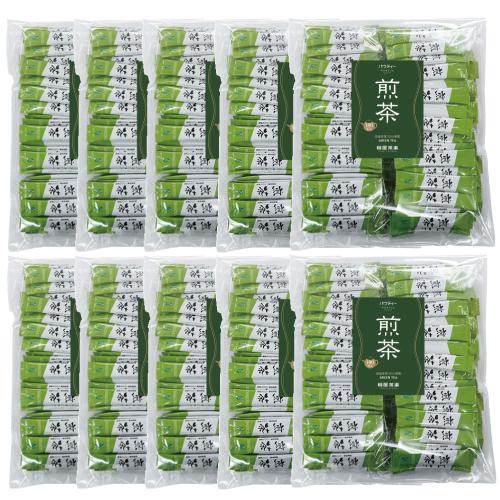 【送料無料】パウティー 煎茶 スティック 1杯分(0.6g)×1,000本入り / 粉末 緑茶 インスタントスティック