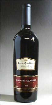 アーネスト&ジュリオ ガロ カベルネソーヴィニヨン ソノマカウンティ 2002