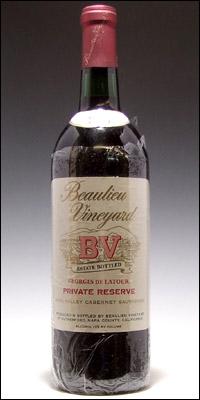 カリフォルニア>「B」で始まるワイナリー>Beaulieu Vineyard (BV) 【ボーリュー】