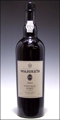 ワレ ヴィンテージ ポート [2003] Warre's Vintage Port