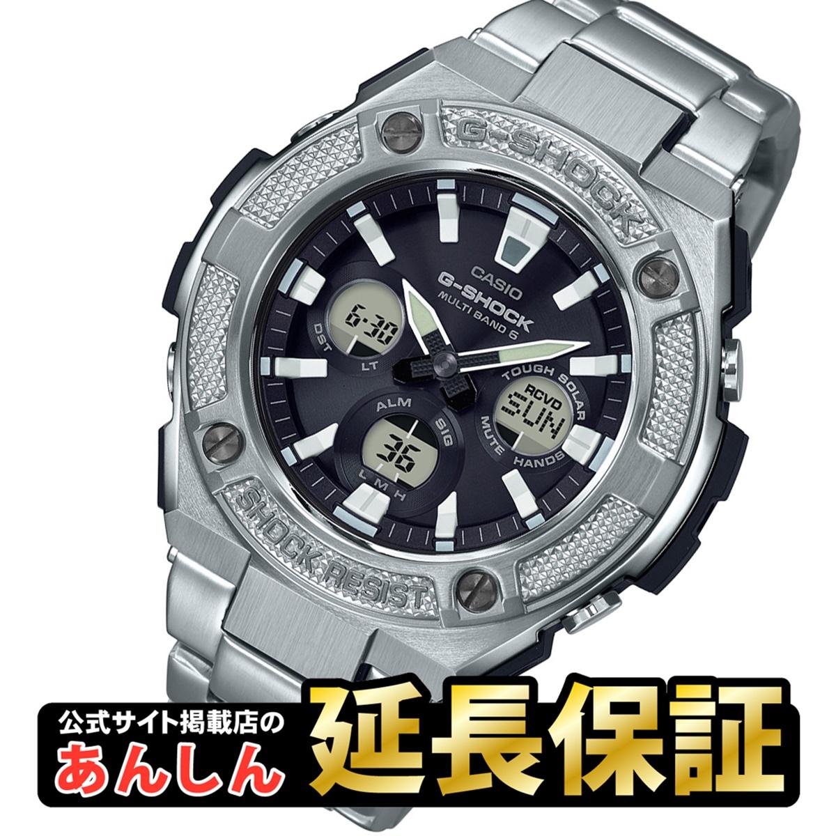 カシオ Gショック GST-W330D-1AJF G-STEEL ミドルサイズ 電波 ソーラー 電波時計 メンズ 腕時計 アナデジ タフソーラー Gスチール CASIO G-SHOCK 【正規品】【0918】