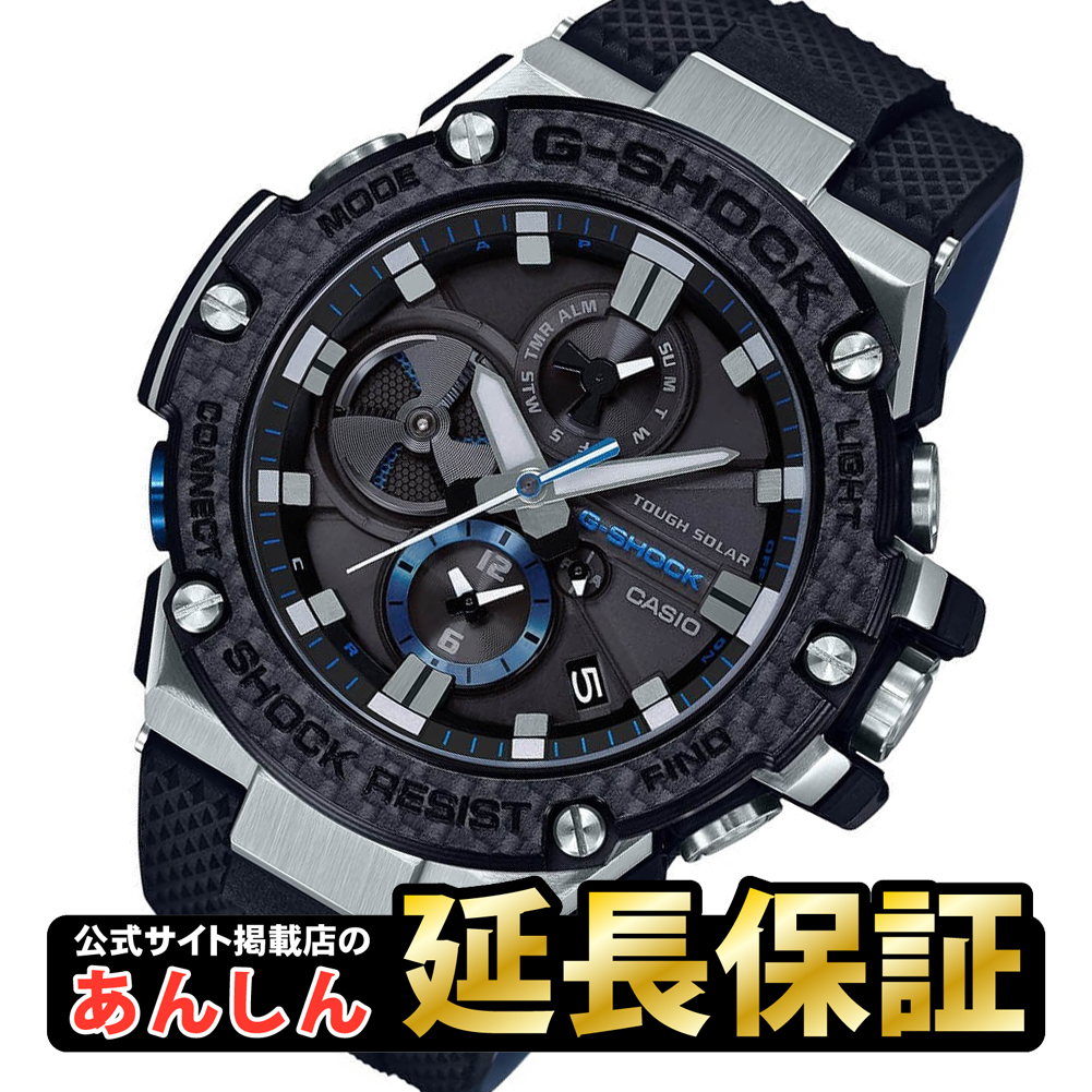 107c9aee1b1 yano-online  Casio G-Shock GST-B100XA-1AJF G-STEEL carbon bezel smartphone  link Bluetooth (R) deployment toughness chronograph solar men watch analog  CASIO ...