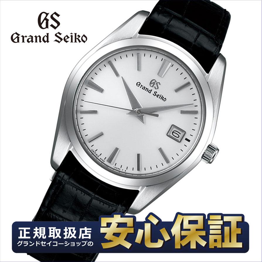【2,000円OFFマラソンクーポン!9日20時から】グランドセイコー SBGX295 クオーツ 9F62 37mm クロコダイル ストラップ メンズ 腕時計 セイコー Grand Seiko 【正規品】NLGS_10spl