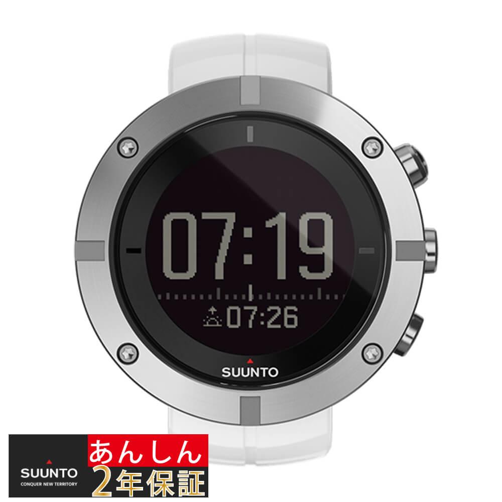 【2,000円OFFマラソンクーポン!9日20時から】【安心2年保証】スント SUUNTO KAILASH SILVER カイラッシュ SS021240000 チタン シルバー ホワイト 腕時計 GPS Bluetooth ブルートゥース
