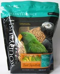 インコ オウム類用 成鳥向け 低廉 ファッション通販 繁殖をしない時期の成鳥の主食として栄養バランスのとれた無着色ペレット ラウディブッシュ スモール デイリーメンテナンス 44oz 1.25kg