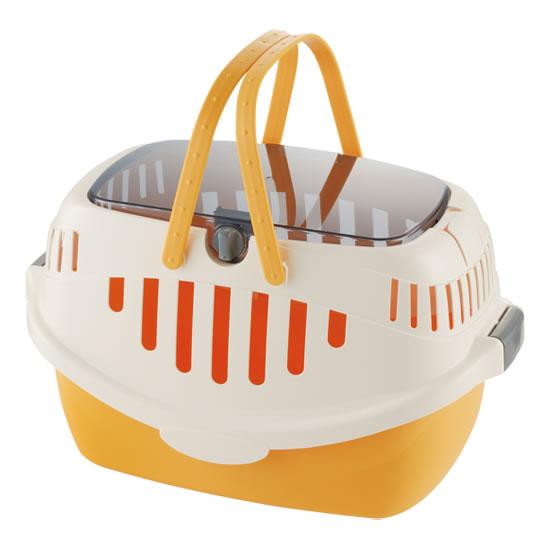出し入れラクラクのかわいいキャリー リッチェル ピコキャットキャリー 海外並行輸入正規品 オレンジ 新商品