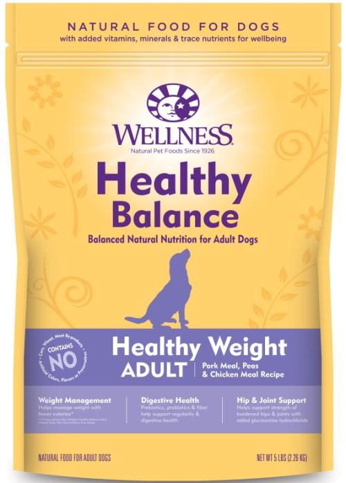 【ウエルネス】ヘルシーバランス 体重管理用成犬用(1歳以上) ポーク 12.7kg