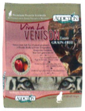 YKエンタープライズ アディクション キャット ビバ・ラ・ベニソン グレインフリー 450g×12袋(ケース販売)