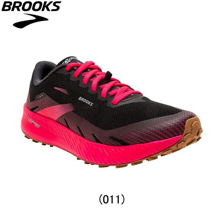 ブルックス BROOKS ランニングシューズ レディースシューズ ジョギング マラソン スポーツ Brooks オリジナルマスク 百貨店 プレゼント ランニング用品 陸上 BMW3392 P Catamount BLK 靴 女性 1203391b-011 レディース 売却