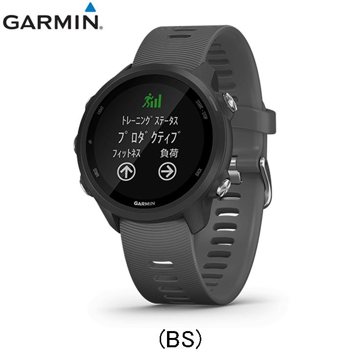 ガーミン Garmin ForeAthlete 245 フォアアスリート245 スマートウォッチ 腕時計 陸上 ランニング用品 ブラック 0100212042