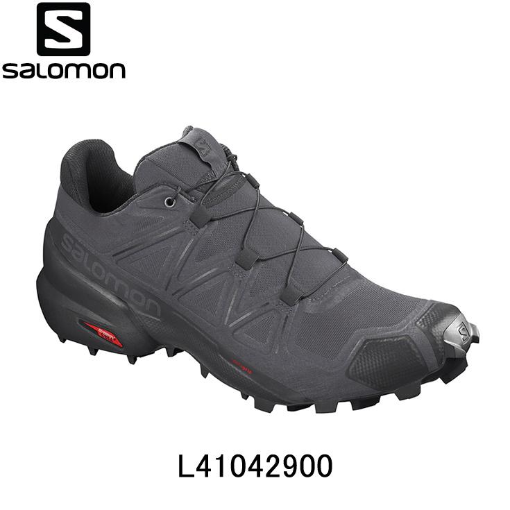 サロモン SALOMON ランニングシューズ メンズシューズ ジョギング マラソン スポーツ 期間限定ソックスプレゼント 登場大人気アイテム SPEED 男性 陸上 CROSS ランニング用品 メンズ 靴 5 l41042900 スピードクロス5 国際ブランド