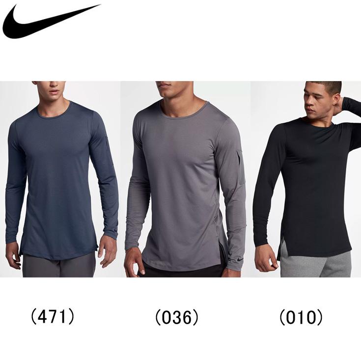 42f2fe66 The Nike nike training utility Longus Reeve top men / man land, running  article long ...