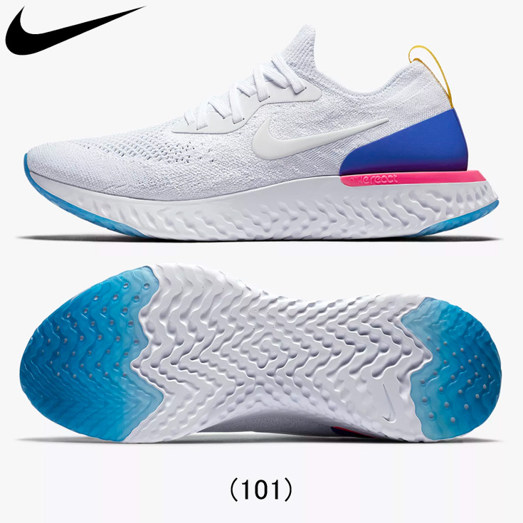 official photos 65bb2 524c6 The Nike nike EPIC REACT FLYKNIT epic re-act fly knit running shoes men    man land, running article