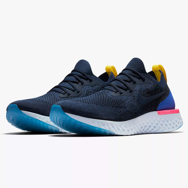 ce93ef078289 The Nike nike EPIC REACT FLYKNIT epic re-act fly knit running shoes men    man land