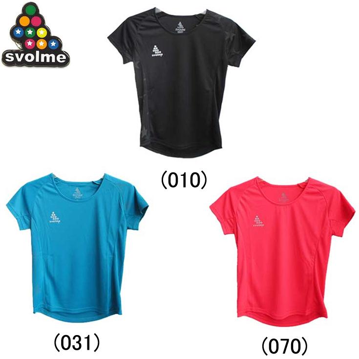 贈与 スボルメ Svolme ランニングウェア レディースシャツ ジョギング マラソン スポーツ 陸上 ランニングTシャツ ランキングTOP5 半袖 720311400 ランニング用品 女性 レディース