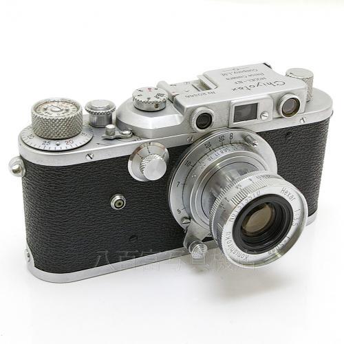 9 18 0:00~9 24 正規激安 01:59まで限定 最大4 スーパーセール 000円OFFクーポン発行中 中古 チヨタックス Chiyotax K2527 Hexar 中古フィルムカメラ セット F3.5 50mm IIIF