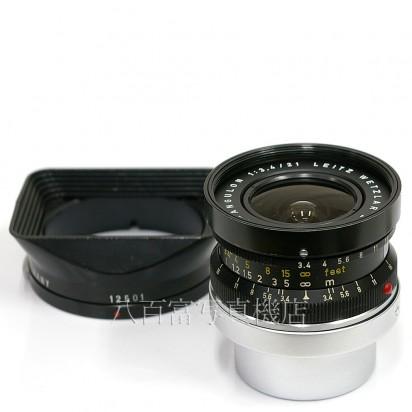 【中古】 ライツ SUPER ANGURON 21mm F3.4 ライカMマウント用 ブラック LEITZ スーパーアンギュロン 中古レンズ 24714【カメラの八百富】【カメラ】【レンズ】