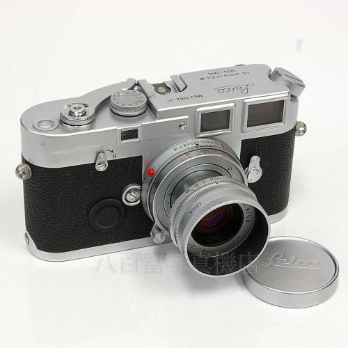 【中古】 ライカ M6J エルマー50mm F2.8 セット Leica 【中古カメラ】 K2450【USED】【カメラ】【レンズ】