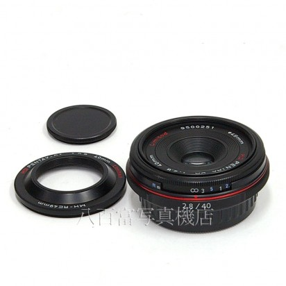 【中古】 HD PENTAX-DA 40mmF2.8 Limited ブラック ペンタックス 中古レンズ 27353【カメラの八百富】【カメラ】【レンズ】