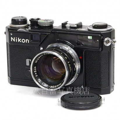 中古カメラ・中古レンズ・デジタルカメラ・アクセサリー! カメラのことなら≪カメラの八百富≫ ★ 買い取り・下取り大歓迎! 【中古】 ニコン SP ブラック Nikkor 5cm F1.4 セット Nikon 中古フィルムカメラ19126
