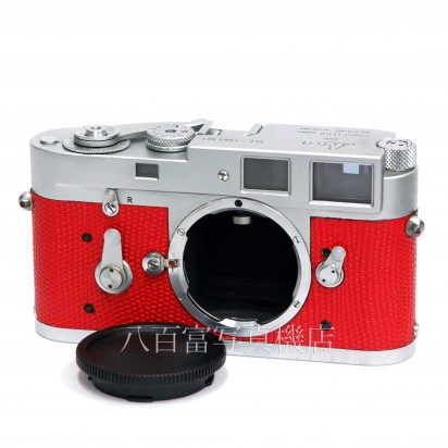 【中古】 ライカ M2 クローム 赤貼り革 ボディ Leica 中古カメラ 30772【カメラの八百富】【カメラ】【レンズ】