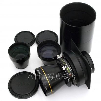 【中古】 ニコン Nikkor T * ED 360mm F8 500mm F11 720mmF16 後群レンズ交換方式 3本セット Nikon ニッコール 中古レンズ 22158【カメラの八百富】【カメラ】【レンズ】