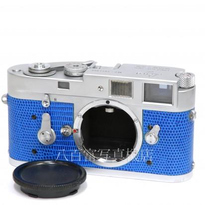 【中古】 ライカ M2 クローム 青貼り革 ボディ Leica 中古カメラ K2533【カメラの八百富】【カメラ】【レンズ】