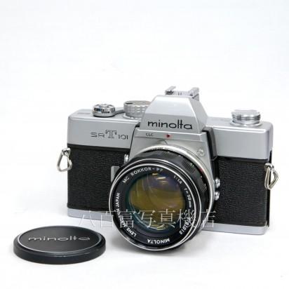 【中古】 ミノルタ SRT101 シルバー 58mm F1.4 セット minolta 中古カメラ 31363【カメラの八百富】【カメラ】【レンズ】