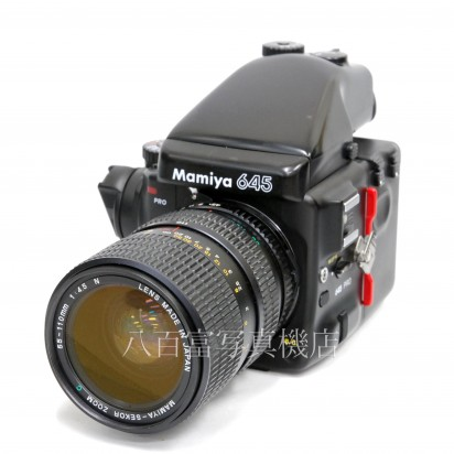 【中古】 マミヤ 645 PRO-TL 55-110mm F4.5N セット Mamiya 中古カメラ 30595【カメラの八百富】【カメラ】【レンズ】