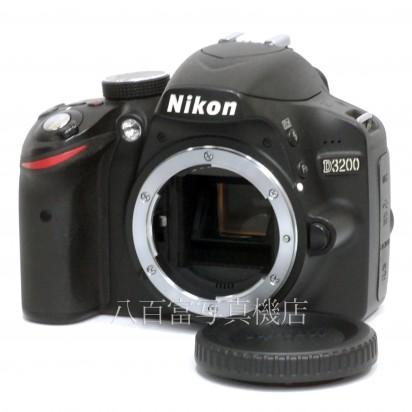 【中古】 ニコン D3200 ボディ ブラック Nikon 中古カメラ 33610【カメラの八百富】【カメラ】【レンズ】