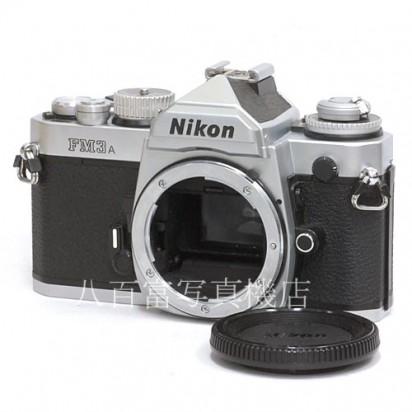 【中古】 ニコン FM3A シルバー ボディ Nikon 中古カメラ 34152【カメラの八百富】【カメラ】【レンズ】