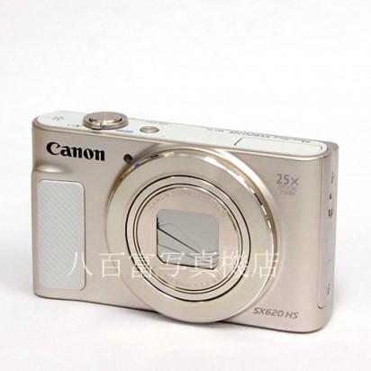 【中古】 キヤノン PowerShot SX620 HS [ホワイト] Canon パワーショット 中古カメラ 34335【カメラの八百富】【カメラ】【レンズ】