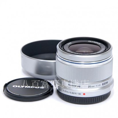 【中古】 オリンパス M.ZUIKO DIGITAL 25mm F1.8 シルバー OLYMPUS ズイコー マイクロフォーサーズ 中古レンズ【カメラの八百富】【カメラ】【レンズ】