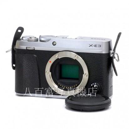 【中古】 富士フイルム X-E3 ボディ シルバー FUJIFILM 中古カメラ 34566【カメラの八百富】【カメラ】【レンズ】