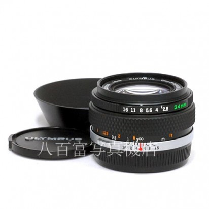 【中古】 オリンパス Zuiko 24mm F2.8 OM OLYMPUS 中古レンズ 34556【カメラの八百富】【カメラ】【レンズ】