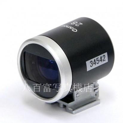 【中古】 Canon 28mm ファインダー (P)型 パララックス補正機構付 キャノン Finder 中古アクセサリー 34542【カメラの八百富】【カメラ】【レンズ】