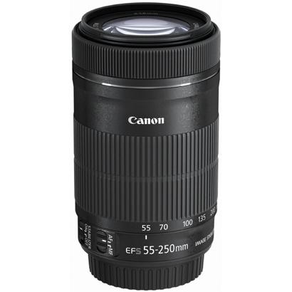 中古カメラ・中古レンズ・デジタルカメラ・アクセサリー! カメラのことなら≪カメラの八百富≫ ★ 買い取り・下取り大歓迎! 【訳あり品】 キヤノン 交換レンズ EF-S 55-250mm F4-5.6 IS STM Canon 【アウトレット商品】