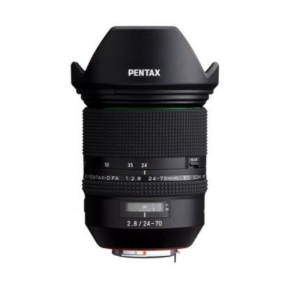ペンタックス HD PENTAX-D FA 24-70mm F2.8 ED SDM WR PENTAX 交換レンズ
