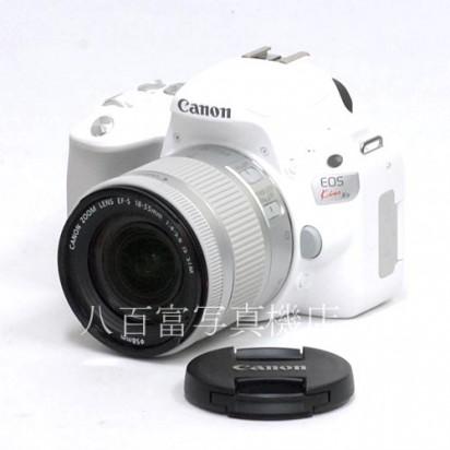 【中古】  キャノン EOS Kiss X9 ホワイト 18-55mm IS STMセット Canon 中古カメラ 35594【カメラの八百富】【カメラ】【レンズ】