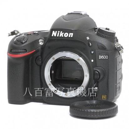 【中古】 ニコン D600 ボディ Nikon 中古カメラ 28913【カメラの八百富】【カメラ】【レンズ】