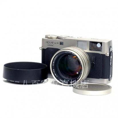 中古カメラ・中古レンズ・デジタルカメラ・アクセサリー! カメラのことなら≪カメラの八百富≫ ★ 買い取り・下取り大歓迎! 【中古】 コニカ HEXAR RF Limited 50mm F1.2 セット Konica ヘキサー RF 中古カメラ 37558